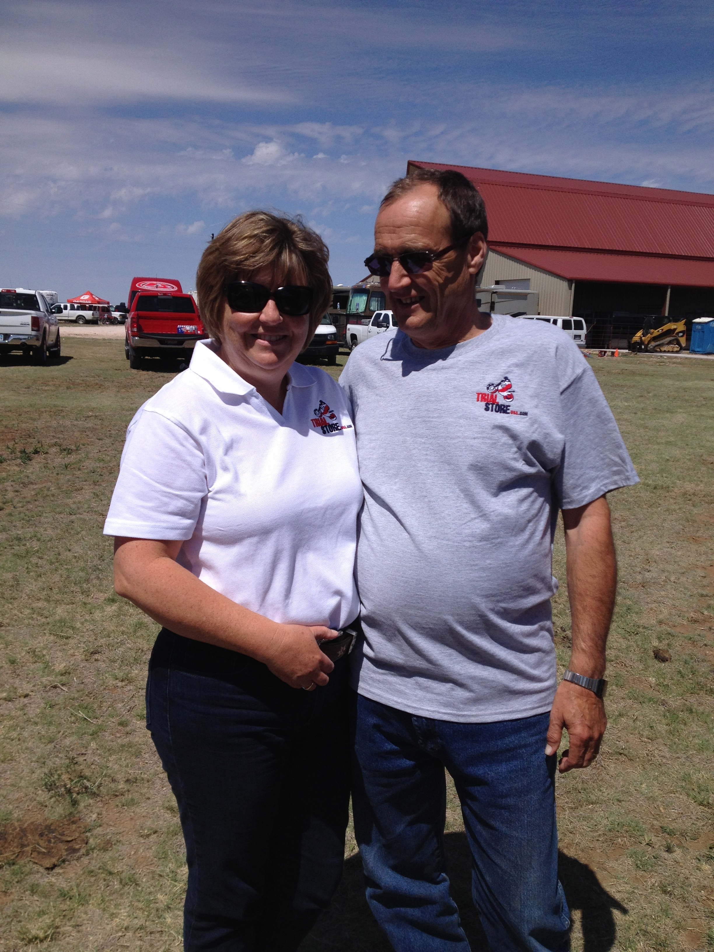 Karen and Tom Niederer owners of Trial Store USA.