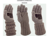 Grandoe Cashmere & Lambswool Luxurious Knit Glove