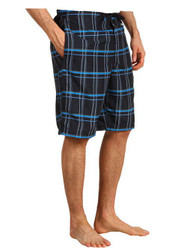 MEN'S SPEEDO CLASSIC PLAID BOARD SHORTS