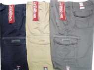 MEN'S UNIONBAY DRAWSTRING ZIP POCKET CARGO SHORTS