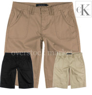 Women's Calvin Klein Bermuda Khaki Walking Shorts