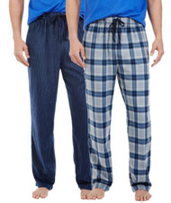 MEN'S NAUTICA SOFT SUEDED FLEECE PAJAMA PANT BOTTOMS