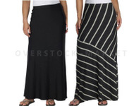 MATTY M. WOMENS LONG MAXI SKIRT