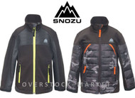 BOYS SNOZU FLEECE LINED SOFT SHELL JACKET!
