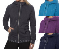 Champion® Women's Full Zip Fleece Lined Hoodie