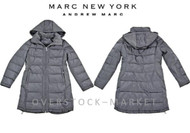 WOMENS MARC NEW YORK ANDREW MARC QUILTED HOODED PARKA LONG COAT