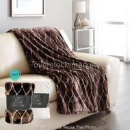 "NEMCOR LIFE COMFORT SUPER LUXURIOUS PLUSH THROW BLANKET 60""x70""!"