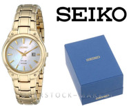Seiko Core SUT130 Gold-Tone Stainless Steel Mother of Pearl Watch