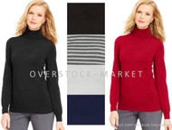 WOMEN'S JOSEPH A. CLASSIC TURTLENECK SWEATER! SUPERIOR SOFTNESS!