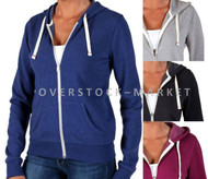 WOMEN'S ABBOT & MAIN FLEECE LINED HOODIE SWEATSHIRT