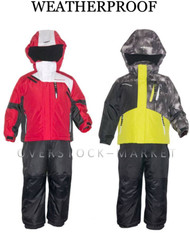 WEATHERPROOF BOYS WINTER COAT & BIB PANT SETS! SKI/BOARDER SNOW SETS