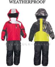 WEATHERPROOF BOYS WINTER COAT & BIB PANT SETS! SKI/BOARDER SNOW SETS
