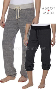 WOMEN'S ABBOT & MAIN SOFT CONTEMPORARY FIT SWEATPANT