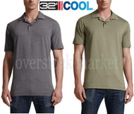 MENS WEATHERPROOF 32 DEGREES COOL SHORT SLEEVE POLO SHIRT!