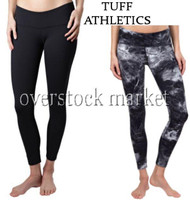 WOMENS TUFF ATHLETIC FULL LENGTH PERFORMANCE TIGHTS! LYCRA & SUPPLEX