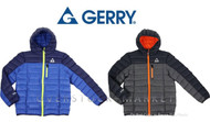 BOYS GERRY PACKABLE SWEATER DOWN JACKET! WITH PACKABLE PILLOW!