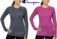 WOMENS CHAMPION ACTIVE YOGA ATHLETIC TEE! LONG SLEEVE WITH THUMBHOLE