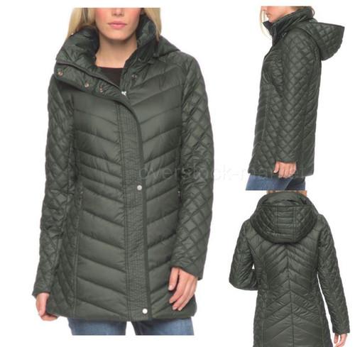 Andrew marc new york women's quilted coat jacket