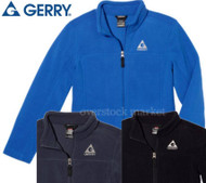 BOYS GERRY BRUSHED MICRO FLEECE JACKET! LIGHTWEIGHT WARM FLEECE!