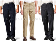 MENS DOCKERS D2 STRAIGHT FIT SIGNATURE KHAKI FLAT FRONT PANT