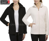 WOMENS WEATHERPROOF 32 DEGREES HEAT FLEECE JACKET! FULL ZIP SHERPA LINED
