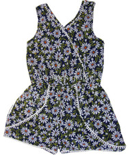 YOUNG GIRLS GUESS LOS ANGELES CAP SLEEVE/SLEEVELESS SUMMER ROMPERS ADORABLE!