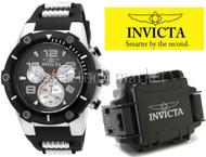 Men's Invicta Speedway Stainless Steel Case Chronograph Watch! 22235