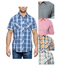 MENS WEATHERPROOF 1948 VINTAGE CLASSIC WOVEN SHORT SLEEVE SHIRT