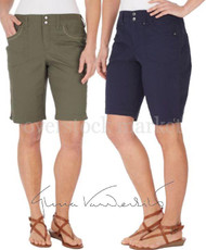 WOMENS GLORIA VANDERBILT BEVERLY BERMUDA SHORTS!