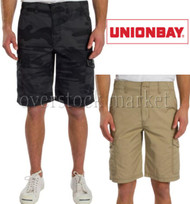 MEN'S UNIONBAY MEDFORD CARGO SHORTS! RELAXED FIT CARGO SHORT!