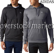 MENS ADIDAS CLIMAWARM TEXTURED PULLOVER HOODIE ATHLETIC SWEATSHIRT