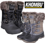 WOMENS KHOMBU SLOPE THERMOLITE ALL WEATHER TERRAIN WINTER SNOW BOOTS