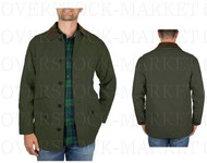 MEN'S ORVIS CLASSIC COLLECTION CANVAS QUILTED LINED BARN JACKET!