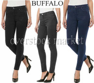 "NEW WOMEN BUFFALO DAVID BITTON ""KAROLIN"" MIDRISE SUPER STRETCH JEGGING!"