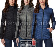 WOMEN'S 32 DEGREES HEAT MIXED MEDIA DOWN JACKET! 650 FILL POWER