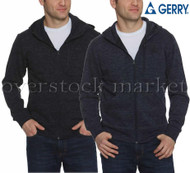 MENS GERRY FULL ZIP HOODIE HOODY! FULL ZIP HOODED JACKET!