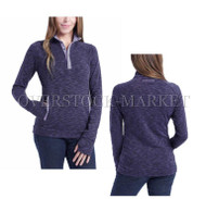 WOMENS AVALANCHE OUTDOOR INSPIRED APPAREL LOMA 1/4 SNAP PULLOVER!
