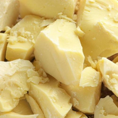 Organic Cocoa Butter - Natural Pure Prime Pressed