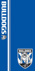 NRL Bulldogs Beach Towel
