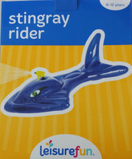 Leisure Fun Stingray Rider Inflatable Pool Float (LF007)