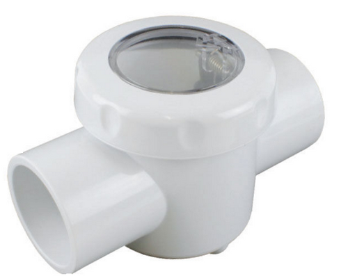 Spring Check Valve - Clear Lid 50mm