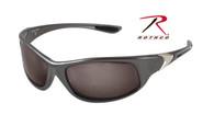 Rothco 0.25 ACP Sunglasses - Gray Frame - Smoke Lens