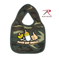 Rothco Choose Your Weapon Infant Bib