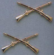 Rothco Officer's Infantry Pin