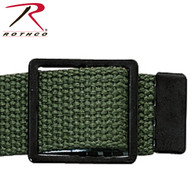 Rothco Black Open Face Web Belt Buckle