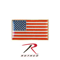 Rothco Classic Rectangular US Flag Pin