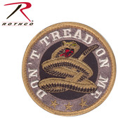 Rothco Don't Tread On Me Round Morale Patch