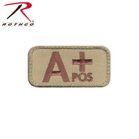 Rothco A Positive Blood Type Morale Patch