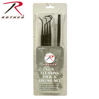 Rothco Gun Cleaning Pick & Brush Set
