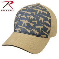 Rothco Deluxe Khaki Guns Low Profile Cap